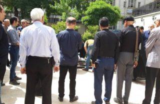 رفیقانهها در بدرقه مسعود دشتبان به خانه ابدی
